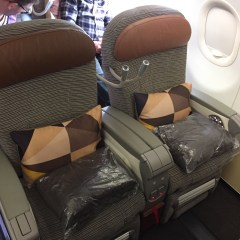 Etihad A320 Business Class Review