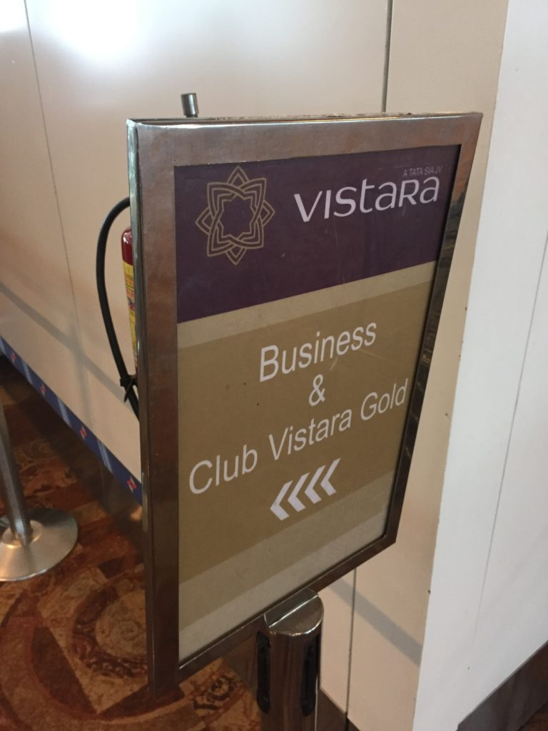 Vistara Business Class Boarding