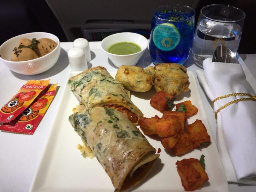 Vistara Business Class Meals