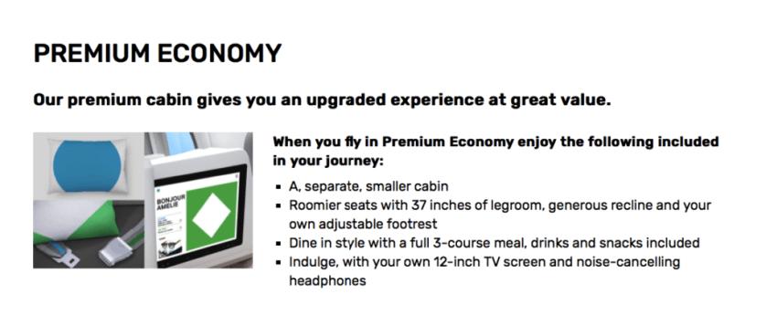 Level Airline Premium Economy Fares