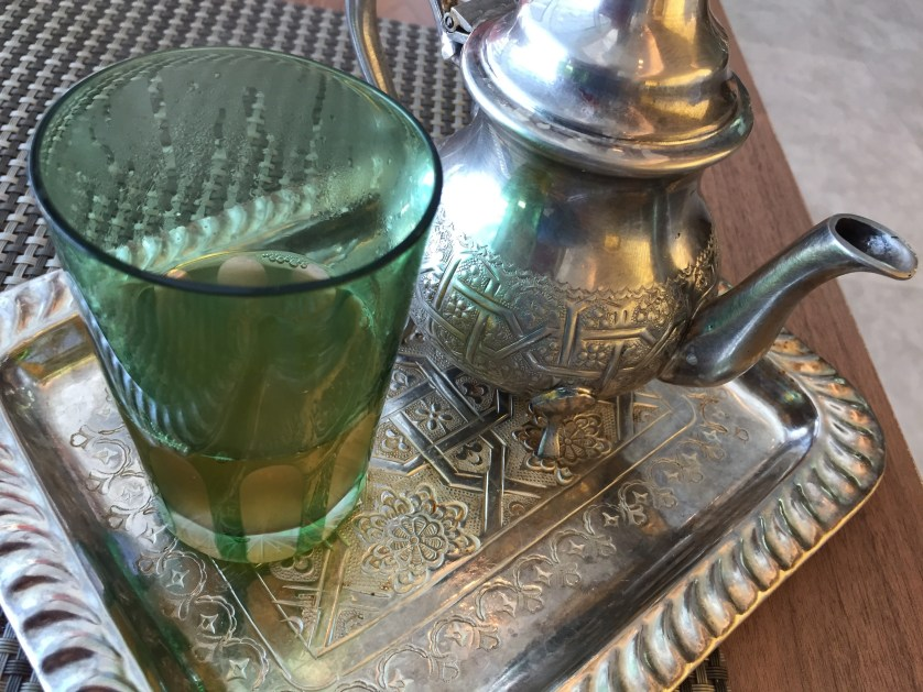 Hilton Tangier Breakfast Mint Tea