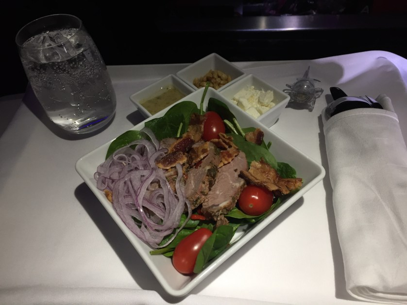 Virgin America Steak Salad