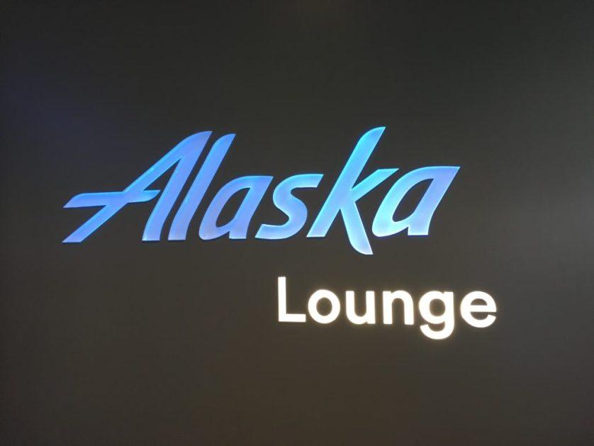 Alaska Lounge Sign