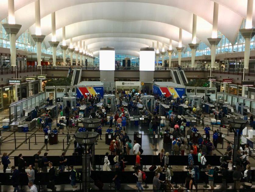 Denver airport security tea