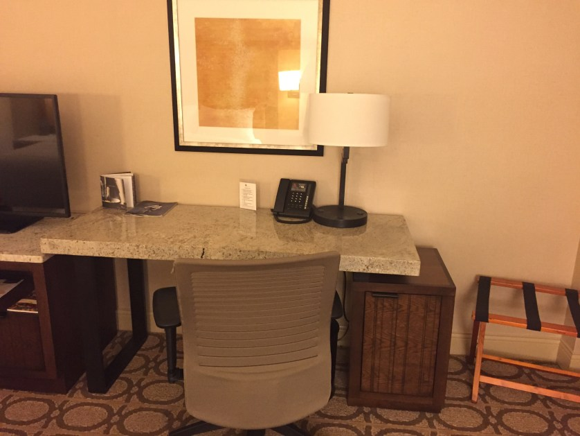 Marriott Westminster Desk