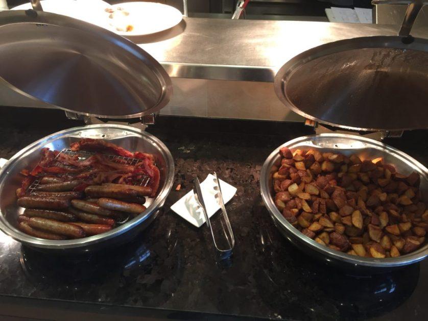 Marriott Westminster Breakfast