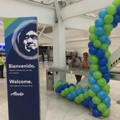 Alaska Airlines MEX-SFO Inaugural Flight