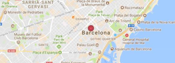 Barcelona Terror Attack near Las Ramblas