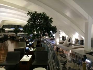 Star Alliance Lounge LAX Balcony Tom Bradley Terminal