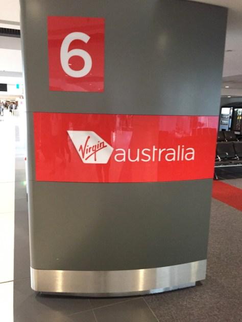 Virgin Baggage Area