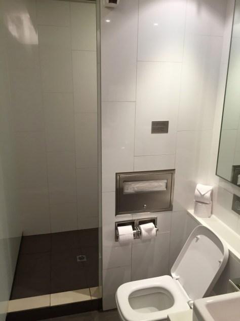 Shower and bathroom facilities