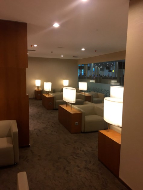 Garuda Waiting area