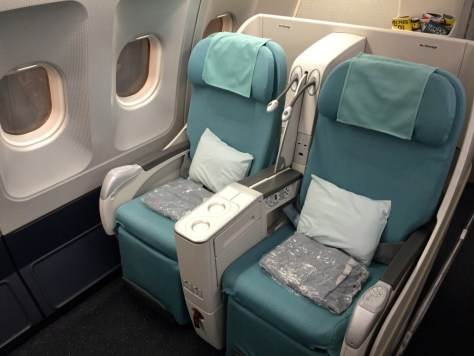 Korean Business Class Seats