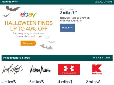 Alaska Miles Offers