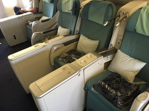 2-3-2 Configuration in Business Class
