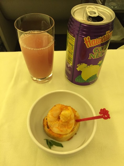 Juice and Amuse Bouche