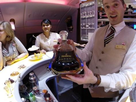 Hennessy Paradis Cognac, $700 a bottle