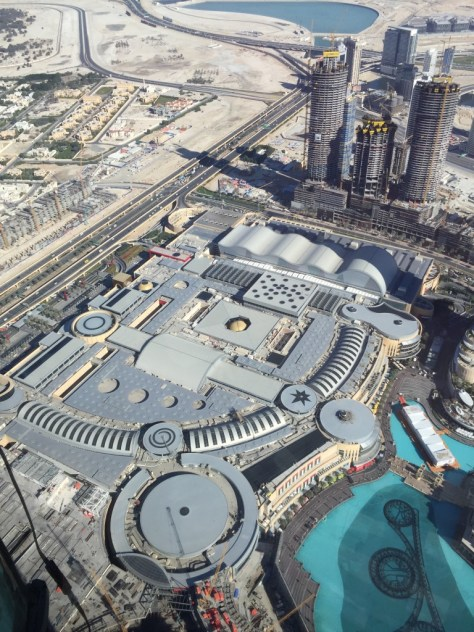 Dubai Mall from above