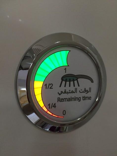Emirates Shower Water Timer