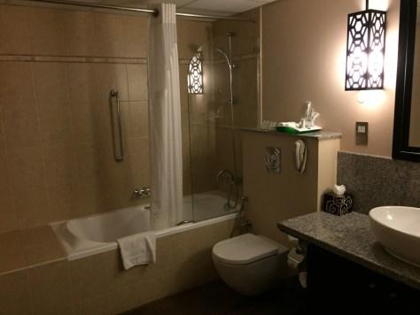 Holiday Inn Barsha Master Bath