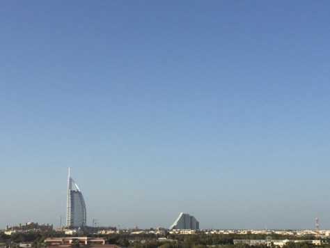 Burj al Arab from the rooftop