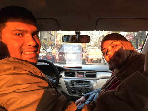 Our wonderful driver Farag and tour guide Hanan