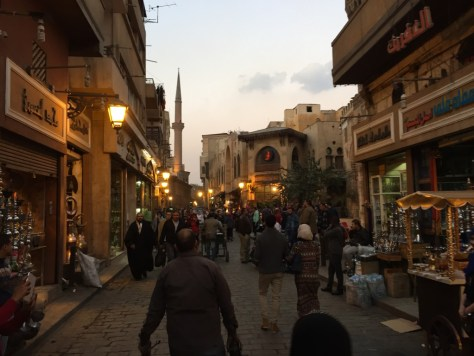 Walking around Old Town Cairo