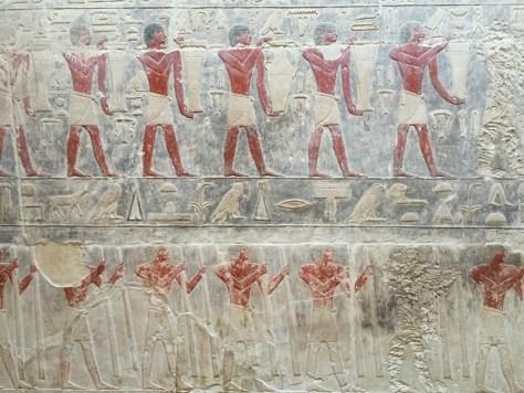 Hieroglyphics in Saqqara
