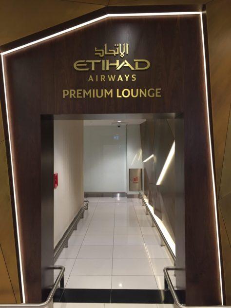 Etihad Terminal 1 Premium Lounge