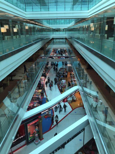 Emirates Terminal View