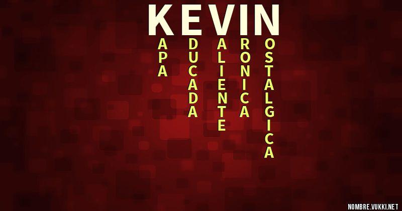 Qué significa kevin