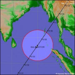 rosat satellite tedesco,rientrato il satellite rosat,rosat: impatto!