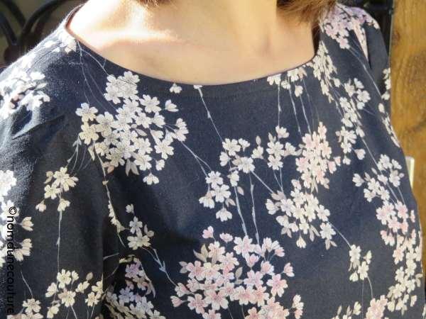 encolure blouse anne kerdilès couture