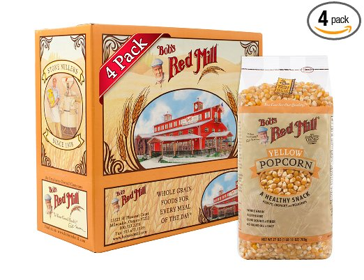 Bob's Red Mill Yellow Popcorn – Most versatile (regarding Popping) Popcorn Kernel