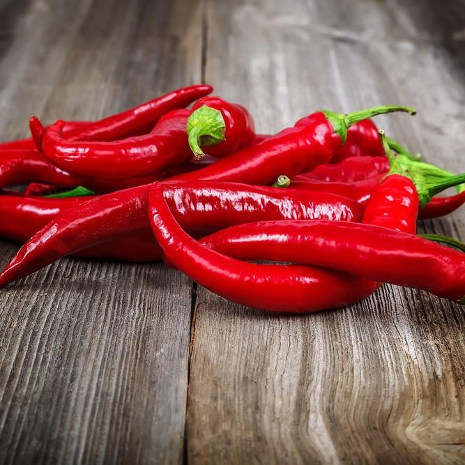 3.	Hot Peppers