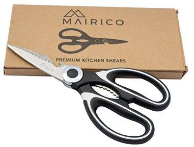 MAIRICO Ultra Sharp Premium Heavy Duty Kitchen Shears