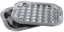 Norpro Stainless Steel Broil / Roast Pan Set
