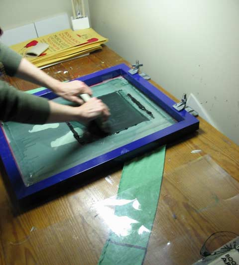 How to Silkscreen Posters and Shirts – Jim Munroe