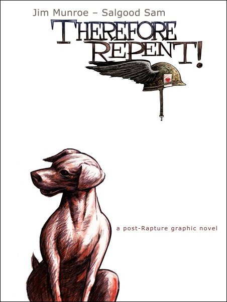 The cover mockup for Therefore Repent!