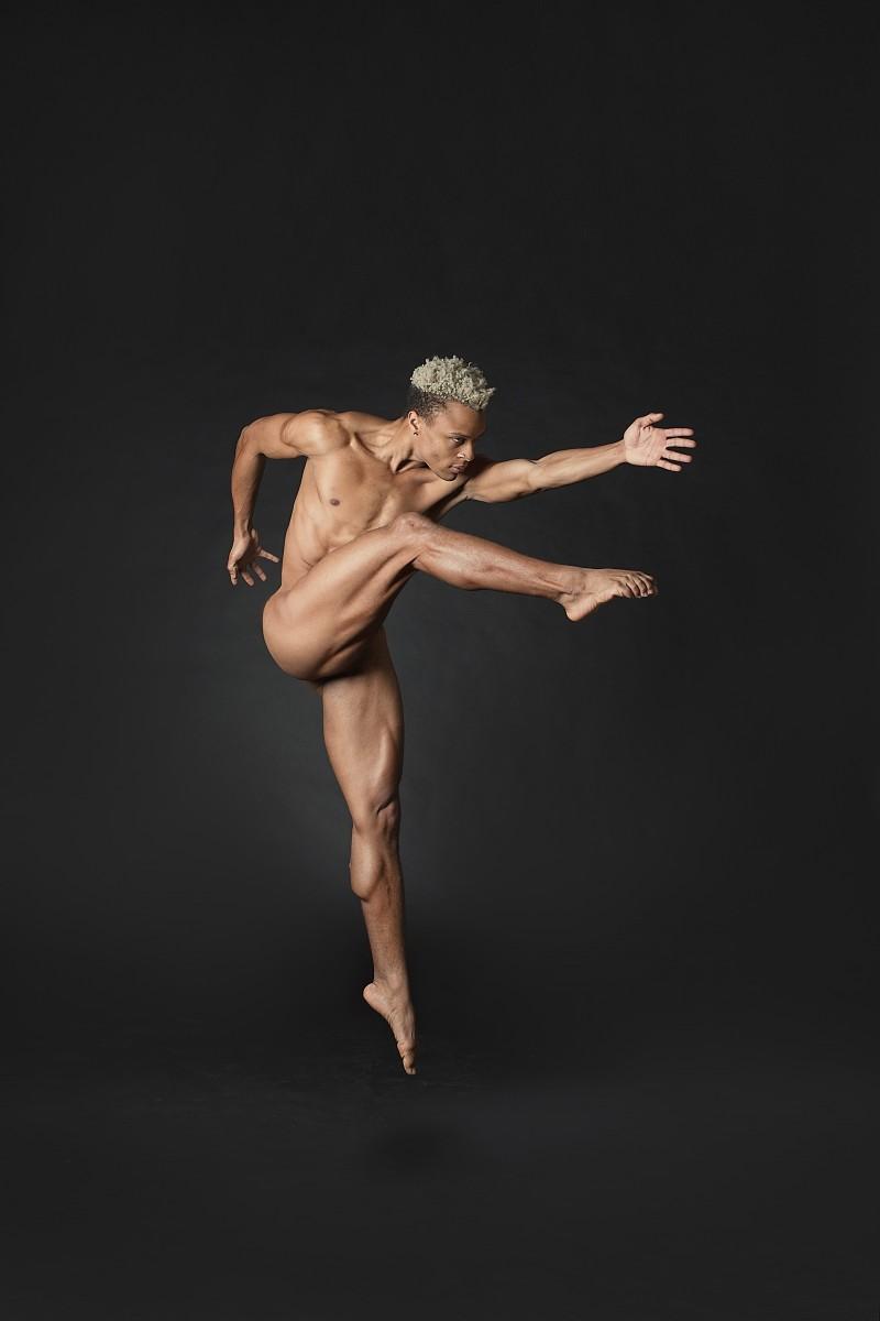Joe Musiel Dancer in the nude jump