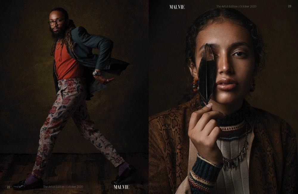 MALVIE Mag The Artist Edition Vol 07 October 2020 spreads12
