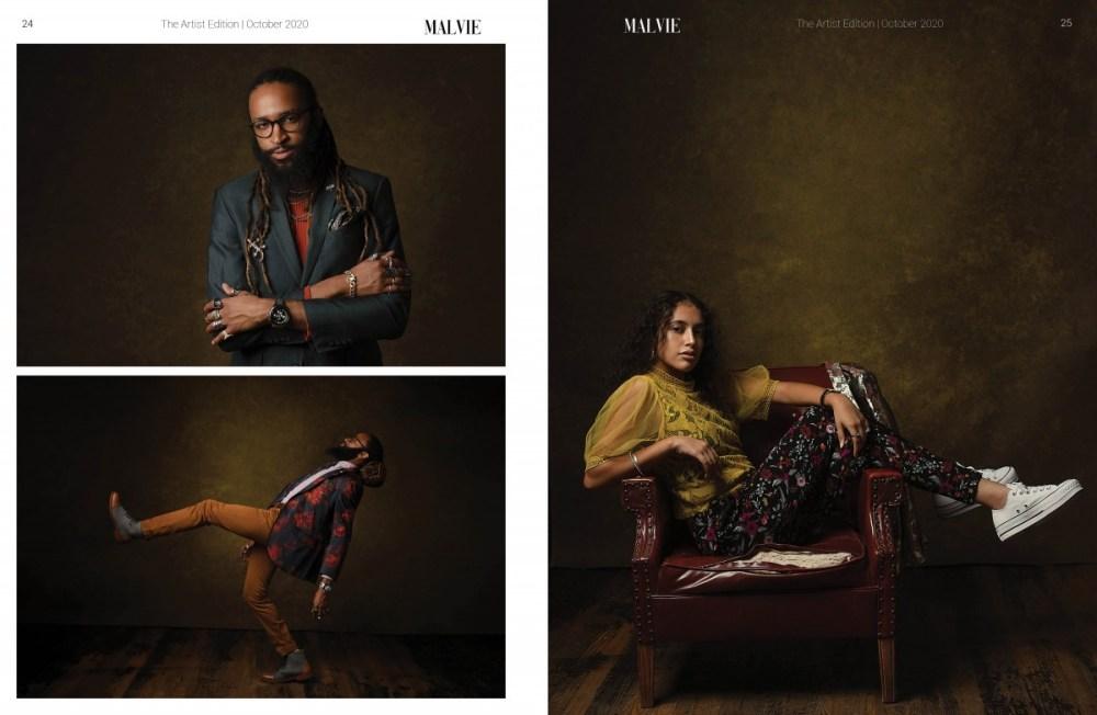 MALVIE Mag The Artist Edition Vol 07 October 2020 spreads13