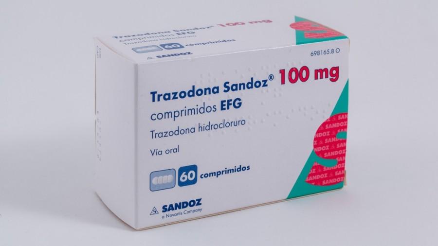 TRAZODONA SANDOZ 100 MG COMPRIMIDOS EFG  60 comprimidos ...
