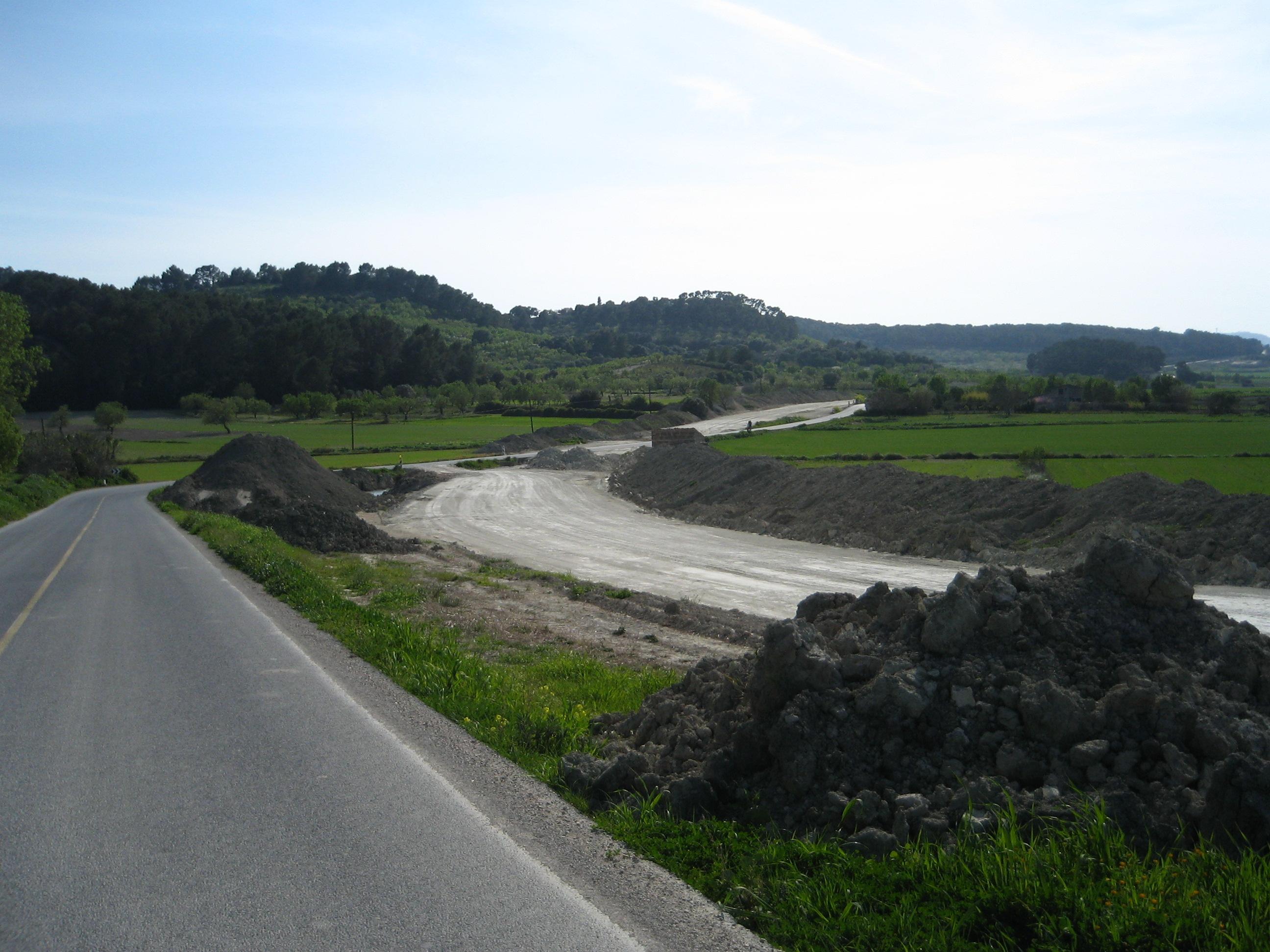 Condicionament carretera Sant Joan - Montuïri