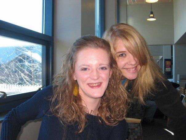 heidi & I- December 3, 2009