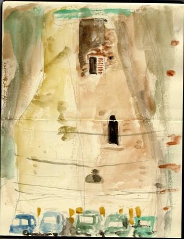 illustrazione passeggiatore