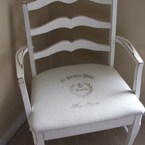 Another French Chair and Pillow