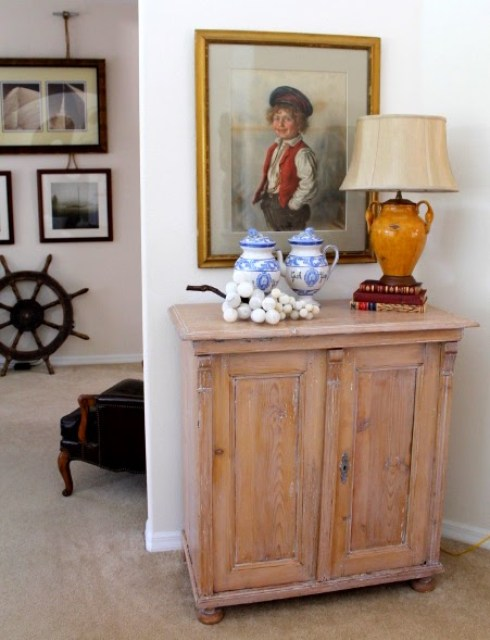 Beautiful Cabinet Makeover with Liming Way No Minimalist Here