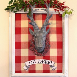 OH DEER ! ~ A Christmas Project