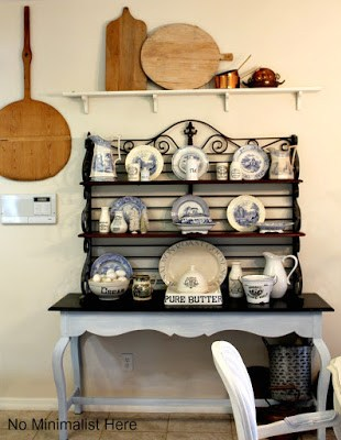 french decorating, french style, ironstone pitchers, ironstone